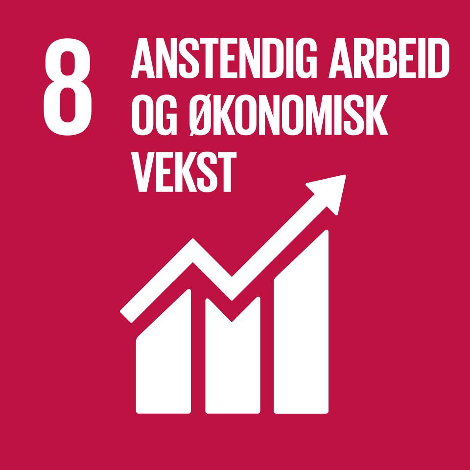 FNs bærekraftsmål 8: anstendig arbeid og økonomisk vekst