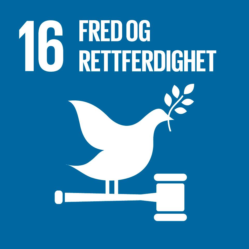 FNs bærekraftsmål 16