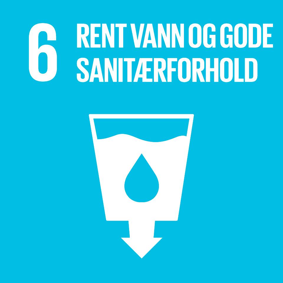 Bærekraftsmål nummer 6. Rent vann og gode sanitærforhold