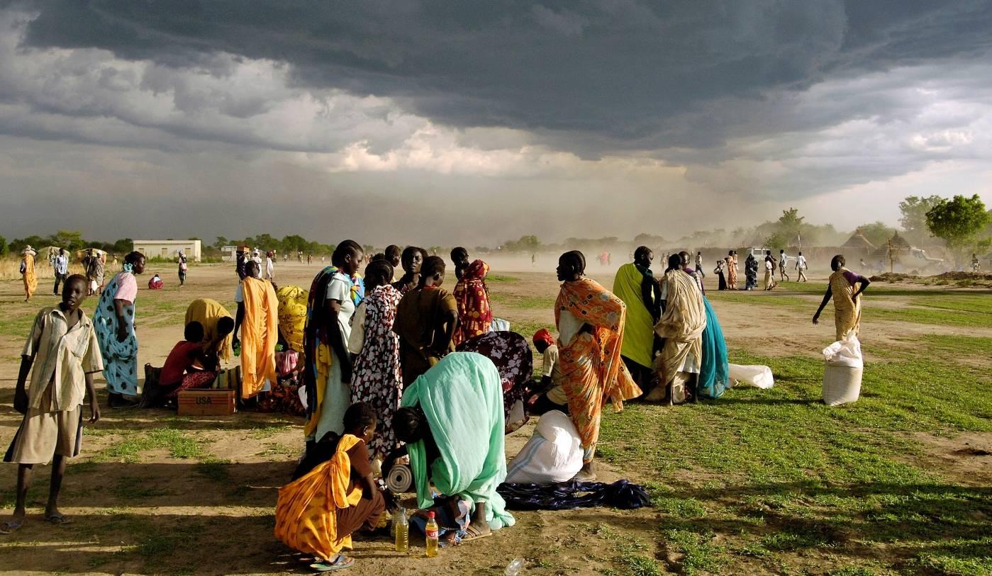 Det er mange internt fordrevne i Sør-Sudansom mottar nødhjelp fra FN.Foto: UN Photo/Tim McKulka.