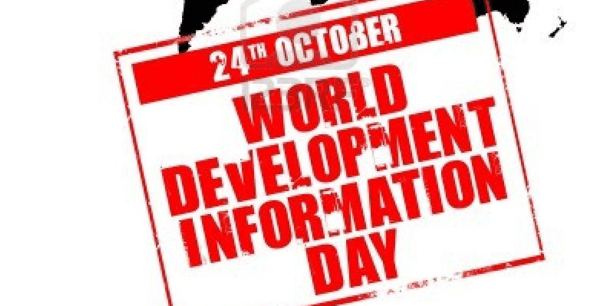 Verdensdag for informasjon om utvikling