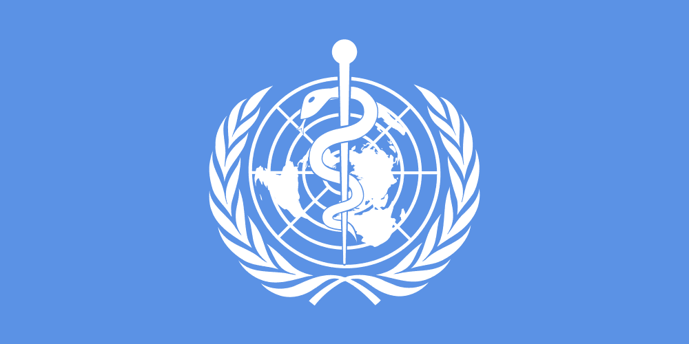 Logoen til Verdens helseorganisasjon.