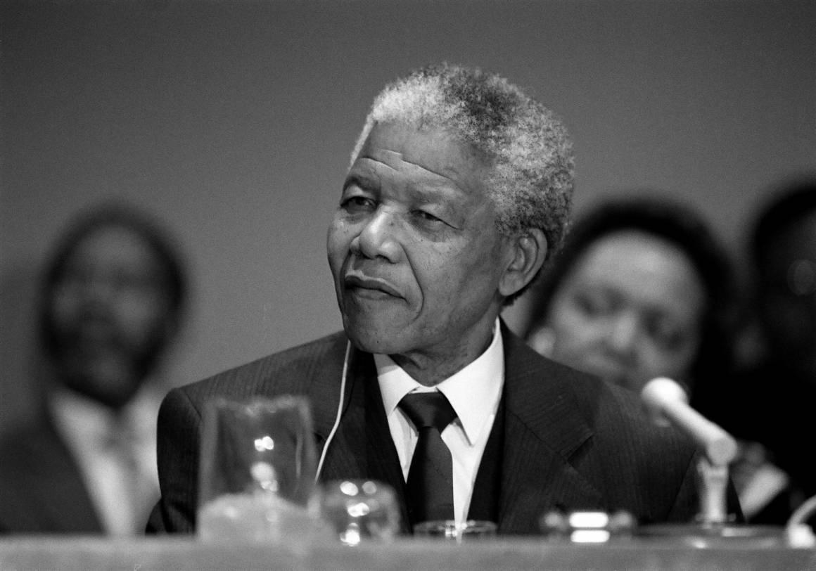 Nelson Mandela er hovedperson i opplegget om Robben Island.