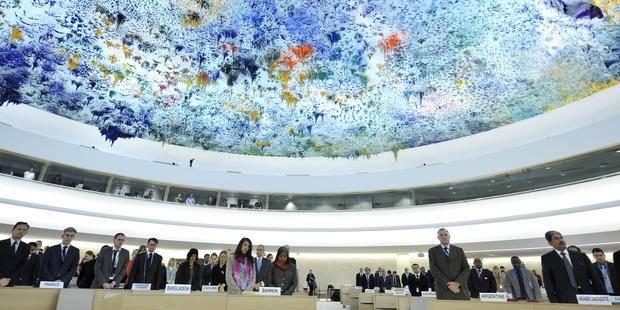 Menneskerettighetsrådets hovedsete ligger i Genève. Foto: UN Photo/Jean-Marc Ferré.