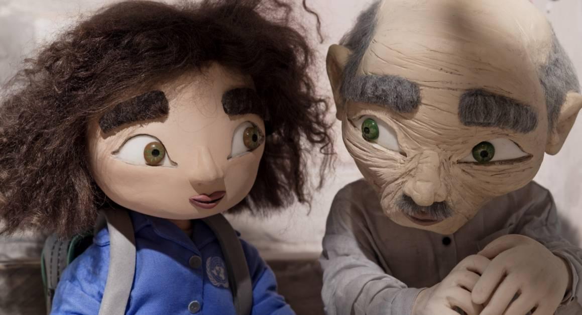 Utsnitt fra filmen Tårnet av Mats Grorud. Her ser vi Wardi og Sidi.