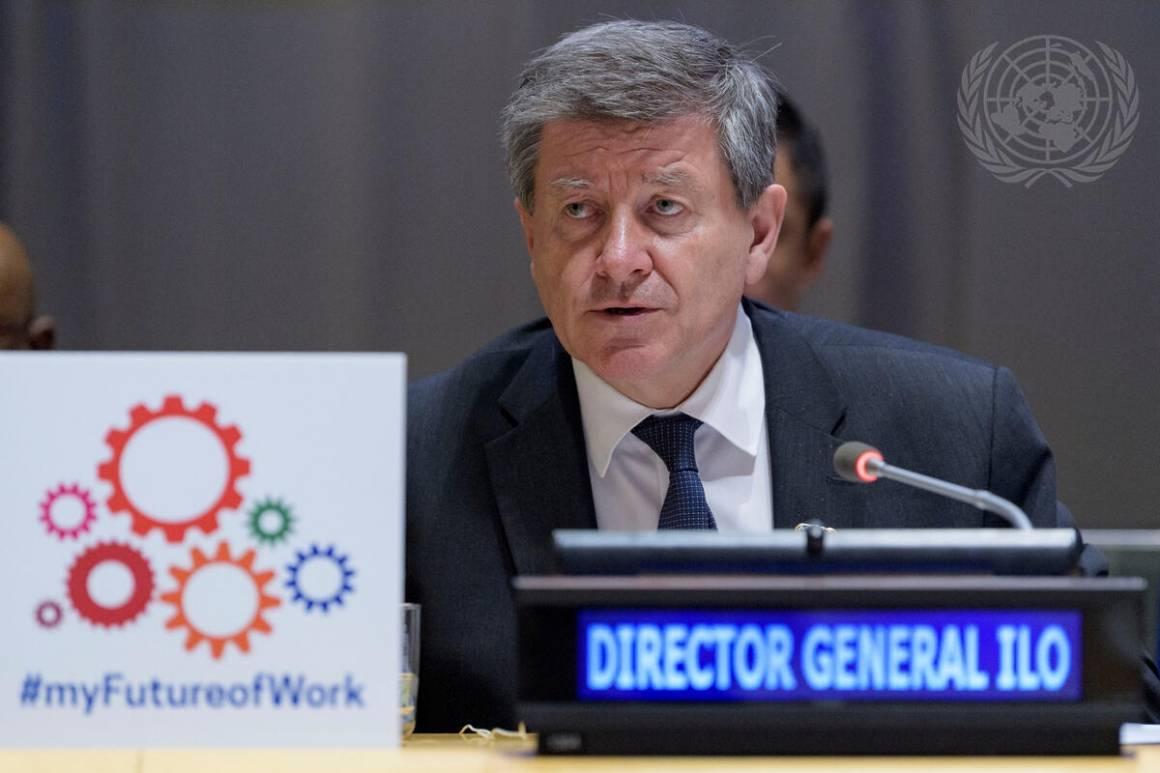Den nåværende generaldirektøren i ILO, Guy Ryder har sin siste dag på jobb 30. september neste år. Nå har ILO startet prosessen med å rekruttere hans arvtager. Foto: UN Photo/Manuel Elias