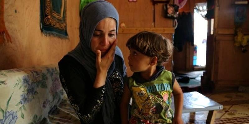 Den brutale krigen i Syria har tvunget en million syrere til å flykte til Libanon. Det er nå tre år siden Fatmeh og Ahmed ankom Libanon. Mangelen på penger for å finansiere nødhjelp har begrenset tilgangen til mat og medisiner. Foto: WFP/Dina El Kassaby.