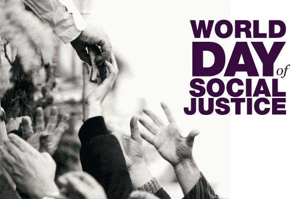 Logoen til Verdens dag for sosial rettferdighet