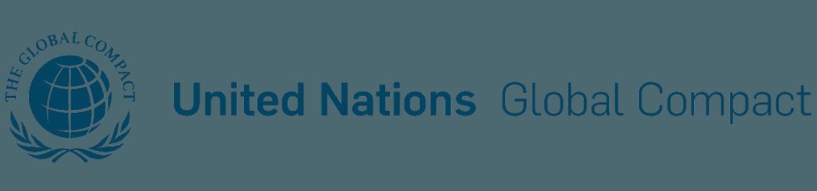 Logo: UN Global Compact.