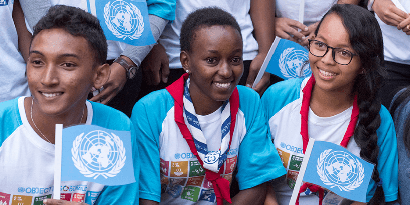 Studenter ved et FN-støttet utviklingsprosjekt i Antananarivo , Madagaskar. Foto: UN Photo/ Mark Garten