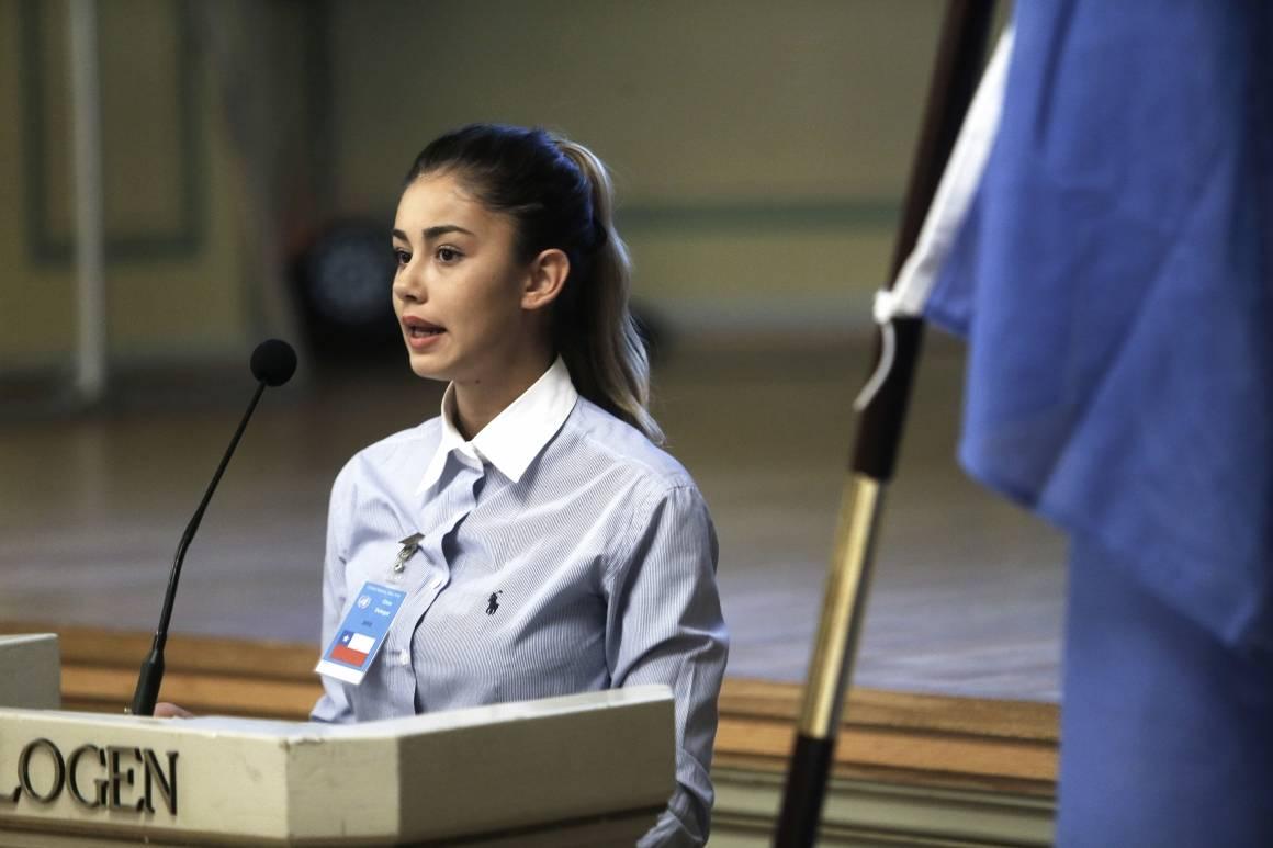 FN-rollespill i Gamle Logen. Foto Paal Audestad