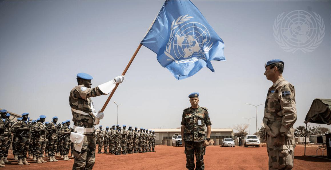 MINUSMA-styrken i Mali // Foto: UNphoto