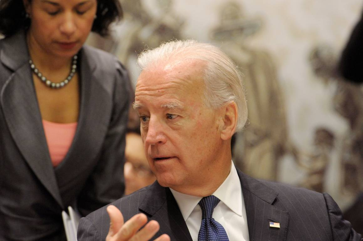 USAs President Joe Biden. Denne måneden overtar landet presidentskapet i FNs sikkerhetsråd. UN Photo/Evan Schneider