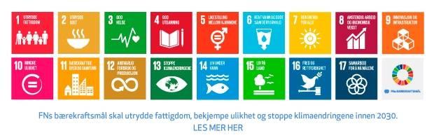 Les mer om FNs bærekraftsmål.