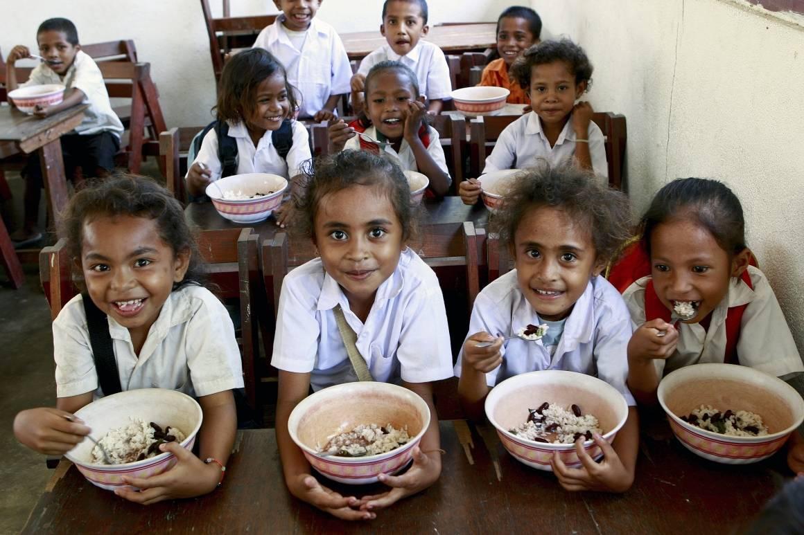 Elever på en skole på Øst-Timor. Foto: UN Photo/Martine Perret