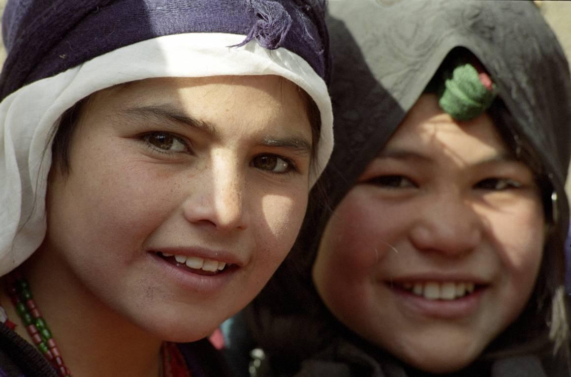 Unge innbyggere i Maslakhleiren for internt fordrevne. Foto: UN Photo/Eskinder Debebe