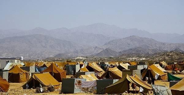 Mazrak-leiren var hjem til rundt 10.000 internt fordrevne i 2009 som resultat av konflikten mellom houthiene og myndighetene. Foto: Annasofie Flamand/IRIN/Flickr