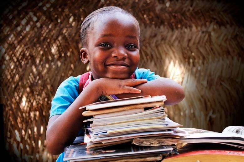 Slagordet for årets TV-aksjon er: Hvert barn er en mulighet. Foto: UNICEF