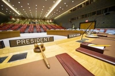 I mai er det Kina som har presidentskapet i FNs sikkerhetsråd og ansvar for å sette dagsorden. Foto: UN Photo/Rick Bajornas
