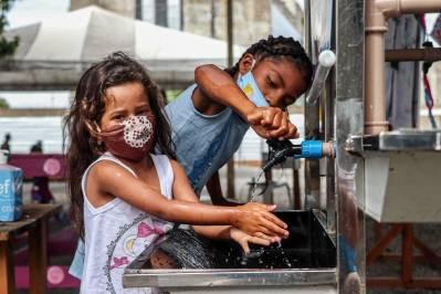 Venezuelanske flyktninger i Brasil. 3,9 millioner venezuelanere fordrevet fra deres hjemland ©UNHCR/Lucas Novaes