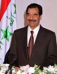 Saddam Hussein satt som president i Irak fra 1979 til 2003. Foto: Wikimedia Commons.
