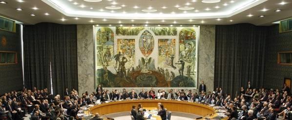 Sikkerhetsrådssalen 2009, UN-photo: Mark Garten