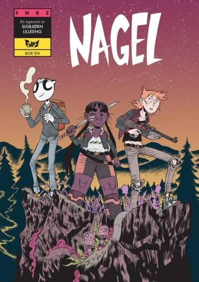 "Bokomslaget til ""Nagel"" av Sigbjørn Lilleeng. 2018. Jippi"