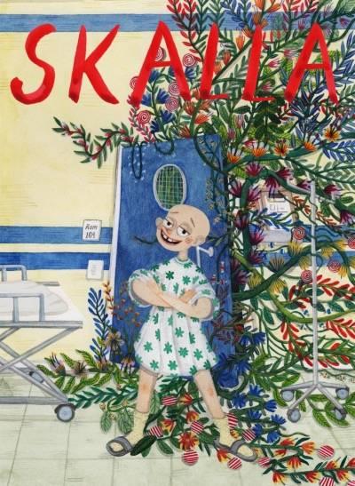 "Bokomslag til ""Skalla"" avRandi Fuglehaug og Nora Brech."