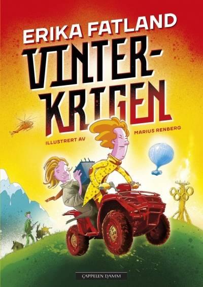 Vokomslaget til Fatland, Erika og Marius Renberg. 2017. Vinterkrigen. Cappelen Damm