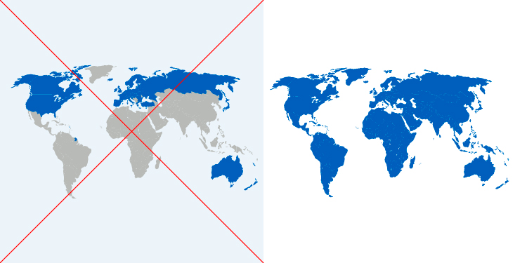 Kart som viser hvilke land som hadde klimaforpliktelser før, og hvilke som har det nå. Grafikk: FN-sambandet